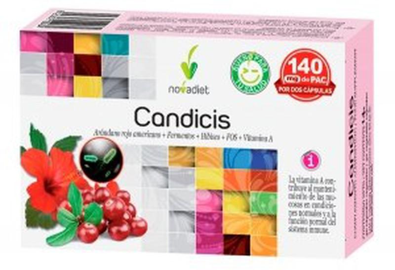 Candida Candicis, la cystite, les capsules 30 NOVAdiet — Saludteresapons
